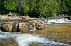 Lac Huron, Destinations, Tonne, Ontario, Waterfall, Outdoor, Spaces, Travel, Vacation