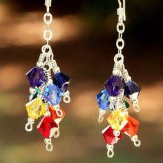 Swarovski Crystal earrings - cute