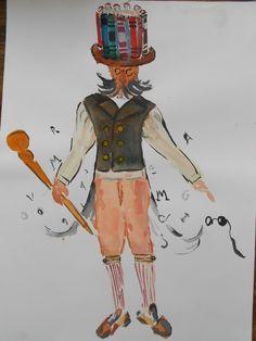 croki Machado de Assis - Carnaval