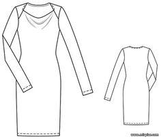 Vestido descarga gratis pdf patrón. free pattern, платье, pattern sewing, выкройки скачать, драпировка кач