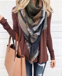 Fall Fashion Outfits Best Comfortable Women Fall Outfits Ideas As Trend 2017 253 Fashion Mode, Look Fashion, Womens Fashion, Fall Fashion, Plaid Fashion, Fashion 2018, Ladies Fashion, Feminine Fashion, Unique Fashion