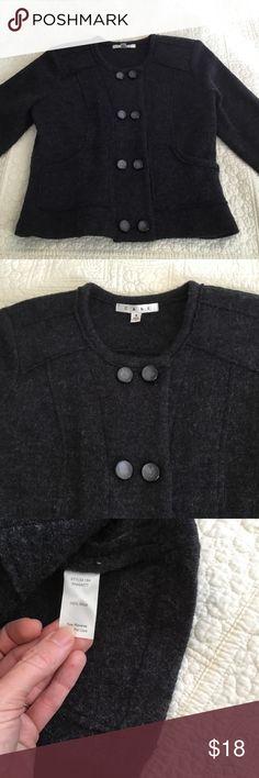 CAbi Cardigan Grey Size S Cute CAbi Wool Grey Cardigan Size Small CAbi Sweaters Cardigans