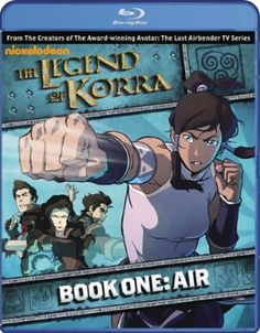 Korra, The Legend of Blu-ray Book 1: Air (D) #RightStuf2013