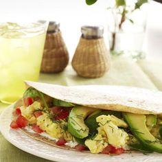 Breakfast wrap! Anti Aging Food Recipes - Delish.com