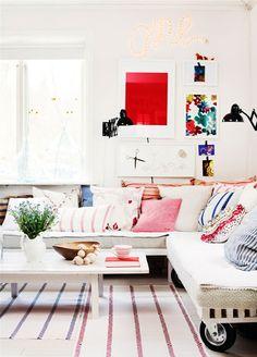 BRIGHT HOME: {perfect home No. 33} boho chic