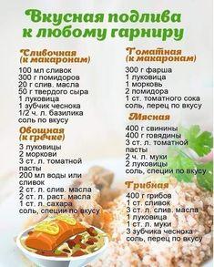 Вкусные подливки... Запеченная Курица Рецепты, Рецепты Приготовления, Полезные Рецепты, Русские Рецепты, Гурман, Пироги, Еда, Кухни