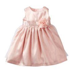 Carter's® Flower Appliqué Dress - Girls newborn-24m  found at @JCPenney