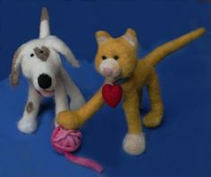 Needle felting. It is fun. It is forgiving. It is possible for the uncrafty.