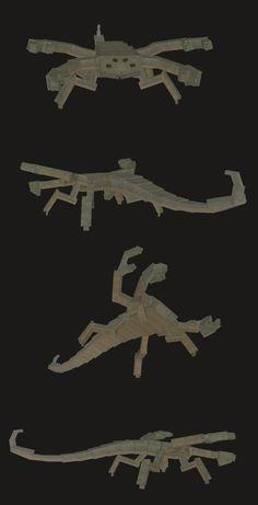 Ça c'est un Scorpac, et vous en croiserez sur Opale ... Bon courage.