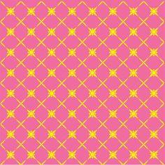 Pink and yellow sun pattern 3 mil vinyl by BreezePrintCompany