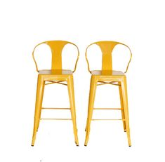 "Custom Tolix Style Arm Chair Bar Stool in 30"" Bar Height:  Painted in the Color of Your Choice"
