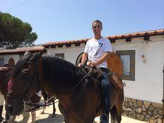 Momento em que eu Estive Montado num Cavalo Lindíssimo.