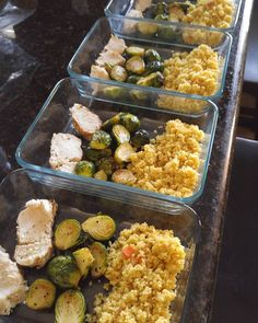 Final product! Grilled and seasoned Chicken with brussel sprouts and couscous! Meal prep time!  #mealprep #mealprepping #mealprepsunday #fitness #legday#mealplan #mealprep #health #nutrition #fitness #fitfam #goals #abs #muscle #gainz #diet #protein #cleaneating #fitlife #gains #cleaneats #foodporn #mealplanmagic #transformation #mealprepmonday #eatclean #mealprepsociety #macros #foodprep #weightloss #workout #mealprepdaily by habanoshunter