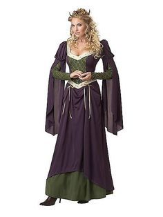 Lady in Waiting Adult Costume [Renaissance and Medieval Costume] - In Stock Renaissance Mode, Costume Renaissance, Medieval Costume, Renaissance Fashion, Medieval Dress, Renaissance Outfits, Renaissance Clothing, Medieval Party, Adult Costumes