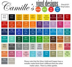 Craft Vinyl Adhesive Backed 12 x 12 sheet cricut silhouette cameo die cut for vinyl decals 10 sheets. $18.00, via Etsy.