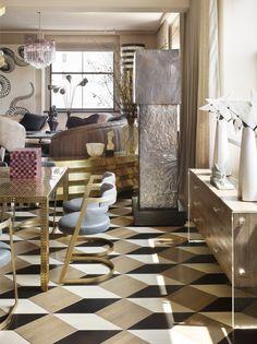 KELLY WEARSTLER | INTERIORS. Spring Street Residence New York Best Interior, Luxury Interior, Luxury Furniture, Furniture Design, Floor Design, House Design, Terrazo, Boffi, Modern Console Tables