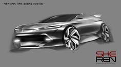 자동차 포토샵 렌더링(Car Photoshop Rendering)