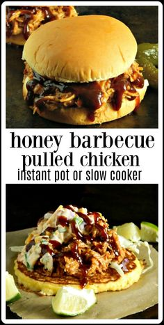 Honey Barbecue Pulled Chicken - Frugal Hausfrau