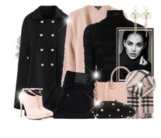 """""""~  The sound of Winter ~"""" by li-lilou ❤ liked on Polyvore featuring Chicwish, Miss Selfridge, Valentino, Levi's, Tom Ford, Burberry, Topshop and Prada"""