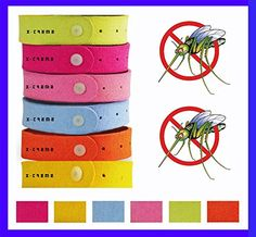 XTreme Blue Mosquito Repellent Bracelets 8 Pk Deet Free NonToxic Ultrafiber Bands Mosquito Braclets Pest Control Safe Adults Kids Babies  Organic Oil Bug Repellent * Check this awesome product by going to the link at the image. (This is an affiliate link) #PestControlTraps