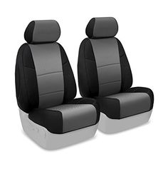 Coverking Custom Fit Front 5050 Bucket Seat Cover for Select Pontiac G6 Models  Spacermesh 2Tone Gray with Black Sides ** Be sure to check out this awesome product-affiliate link.