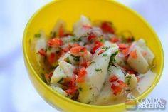 Receita de Ceviche de peixe branco em receitas de peixes, veja essa e outras receitas aqui!