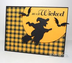 Lucky Dog Stamper: Just A Bit Wicked