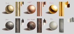 • reference Digital Painting textures art reference metals syberstudies •
