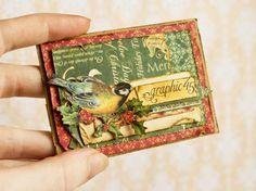 Inspiration Christmas ATC Artist Trading Card