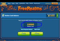 "Hello !!  Today i have for you great tol for game""Realms Station""!! This great tool gives you unlimited cash to spend in your game!!  http://prohacks4u.com/uncategorized/free-realms-station-cash-generator/"