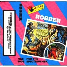 Robber for ZX Spectrum from Virgin Games