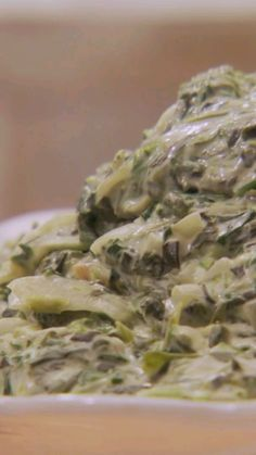 Cheesy Spinach is a simple and delicious update to classic creamed spinach.