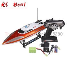 89.00$  Buy here - http://alirue.worldwells.pw/go.php?t=1350904333 - Free shipping Large-scale rc boats (12 *11.6*46) High-speed remote control boat , Gifts for children Remote sailing toys