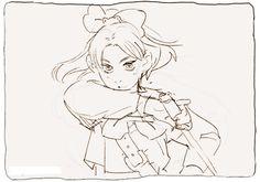 Paper Girl animation by Barukurii