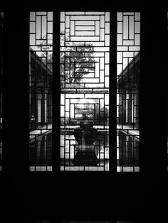 a china window lines so beautiful