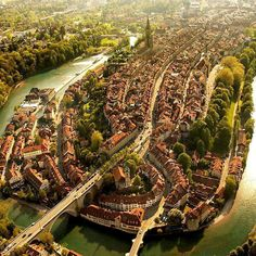 The Amazing City of Bern in Switzerland.