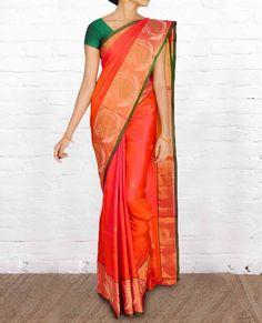 Uppada Silk Sarees USD005 - Pure Silk Sarees