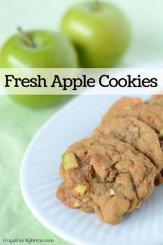 The Highest Three Chicory Espresso Manufacturers - Include A Novel Taste On Your Cup Of Joe These Are Yummy Apple Cookies Made With Fresh Apples. These Cookies Are Easy To Make And They Turn Out Soft On The Inside And Crisp On The Edges. Apple Desserts, Apple Recipes, Fall Recipes, Real Food Recipes, Cookie Recipes, Dessert Recipes, Dessert Bars, Thanksgiving Recipes, Crockpot Recipes