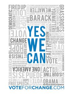 Yes We Can. Bienal del Cartel Bolivia BICeBé® 2013
