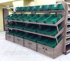 Shop Shelving, Retail Shelving, Shop Interior Design, Store Design, Fruit And Veg Shop, Vegetable Shop, Food Retail, Store Layout, Store Fixtures