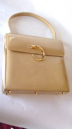 1960s Cartier Limited Edition Panthere De Handbag Vinyl Retro