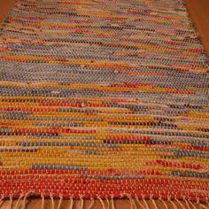 tkaný kobereček - hadrák - pestrobarevný