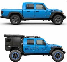 19 Ideas for jeep truck gladiator Jeep Pickup, Jeep Truck, Pickup Trucks, Cool Jeeps, Cool Trucks, Cool Cars, Rat Rods, Supercars, Automobile