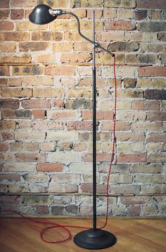 for sale is a lamp by Faries MFG from what's known as Progressive Era in the US – days of Prohibition, Henry Ford and intense social and political change Industrial Floor Lamps, Task Lamps, Henry Ford, Vintage Industrial, This Is Us, Father, Change, Pai, Dads