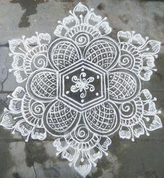Trendy Ideas For Flowers Drawing Ideas Hand Drawn Indian Rangoli Designs, Simple Rangoli Designs Images, Rangoli Designs Latest, Rangoli Border Designs, Rangoli Patterns, Rangoli Ideas, Beautiful Rangoli Designs, Mehndi Designs, Easy Rangoli