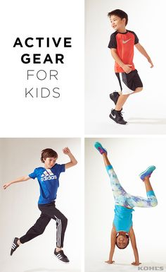 Your kid is about to score extra points for a strong style game. Get little athletes some pint-size activewear from Nike, Tek Gear and more. Perfect for gym class, team practice or just playing around, these sneakers, tees, shorts and leggings are fit for life. Find made-for-play clothes at made-for-play prices at Kohl's.