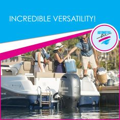 Yamaha In-line Four Outboards provide the ideal power for cruising, water skiing, wakeboarding and sports fishing on flats and offshore boats alike.