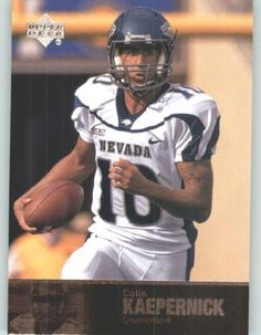 9d78c2ffa 2011 Upper Deck College Future Legends Football Cards  84 Colin Kaepernick  RC Nevada Wolf Pack