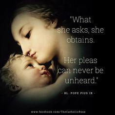 #catholic #maryhelpofchristians #blessedpopepiusix