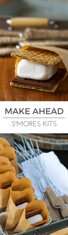 Make Ahead S'mores K